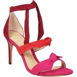 Alexandre Birman Lolita Three Bow Ombre Sandals
